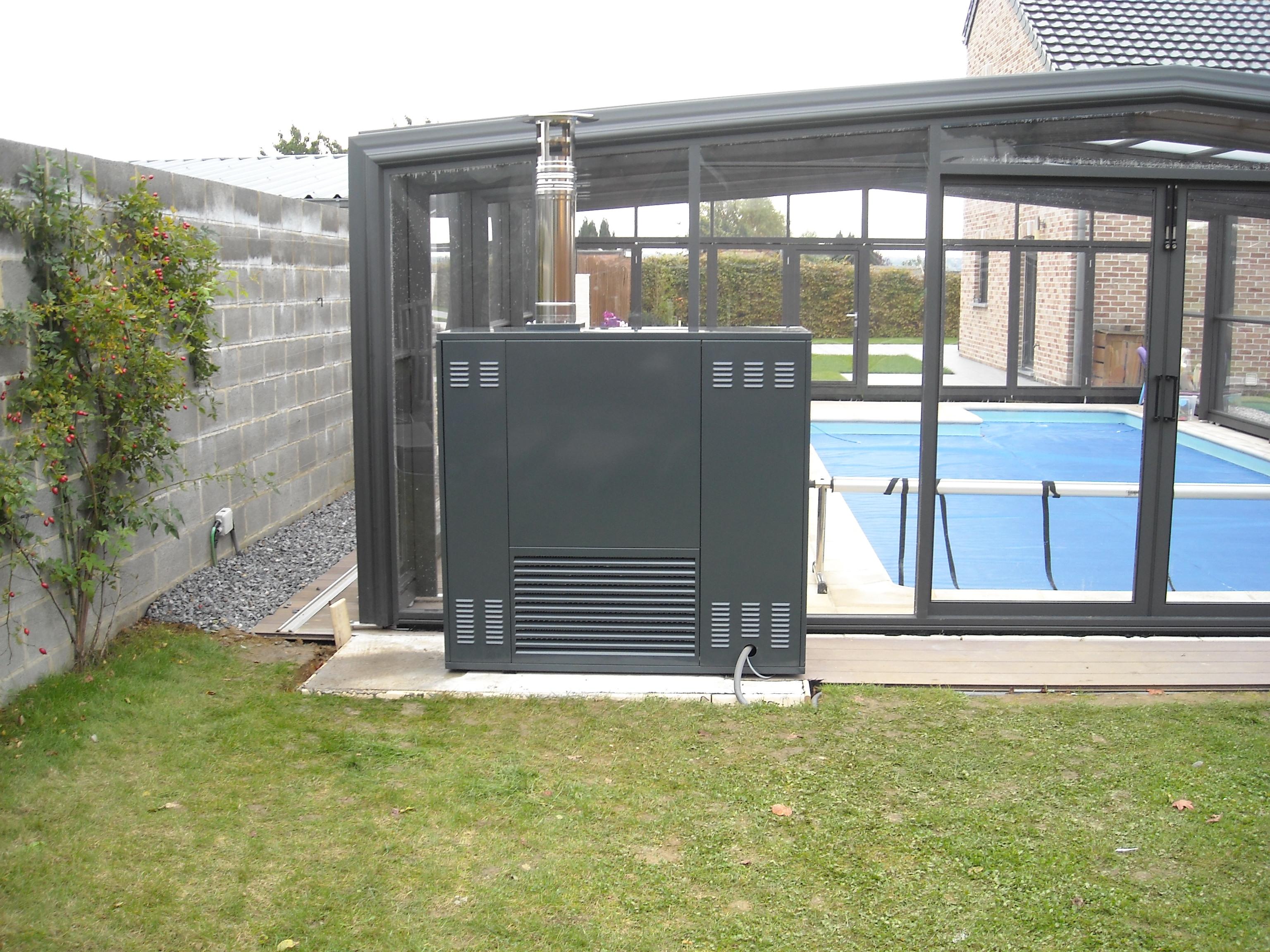 Climabris chauffage pour abris de piscine abris chauff for Chauffage abri piscine
